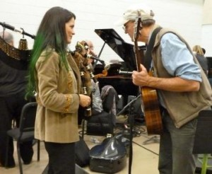 Rehearsal, James Taylor, Kennedy Honors 2011