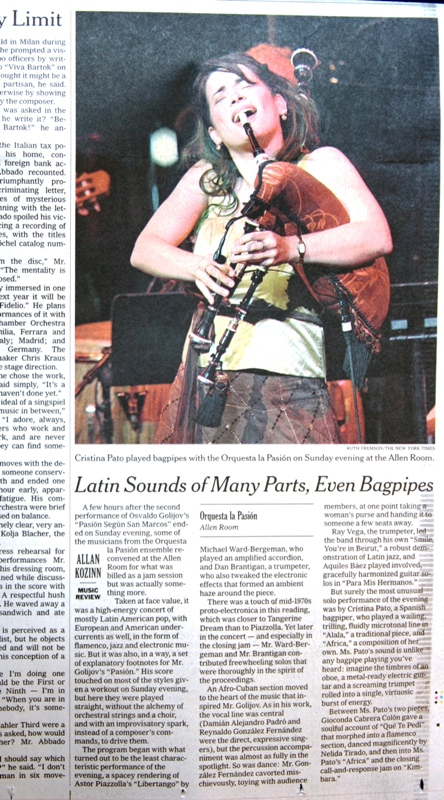 The New York Times 2007