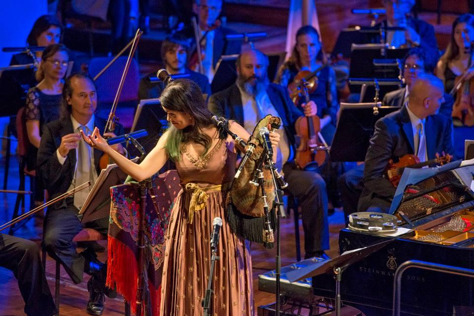 Cristina Pato – Orquestra Simfònica del Vallès - Palau de la Música