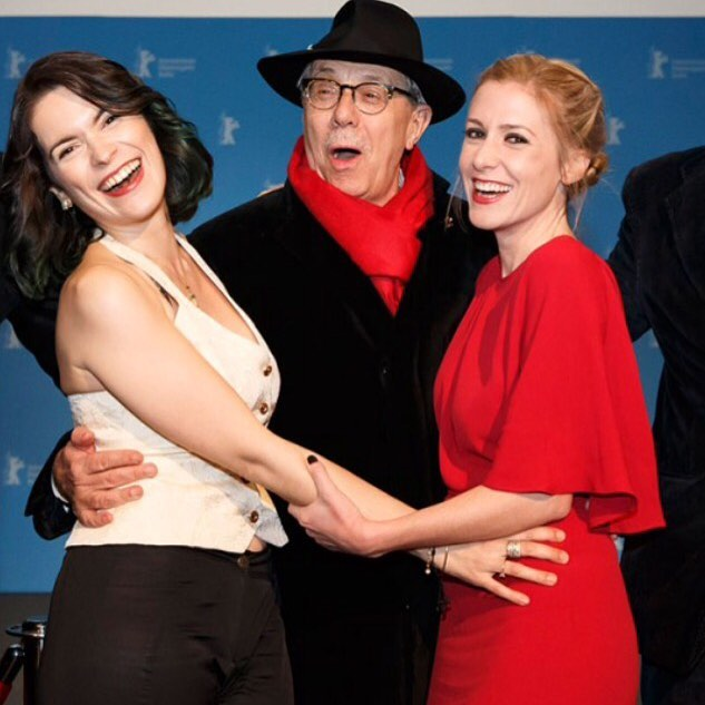 Cristina Pato, Berlinale Director Dieter Kosslick & Producer Caitrin Rogers