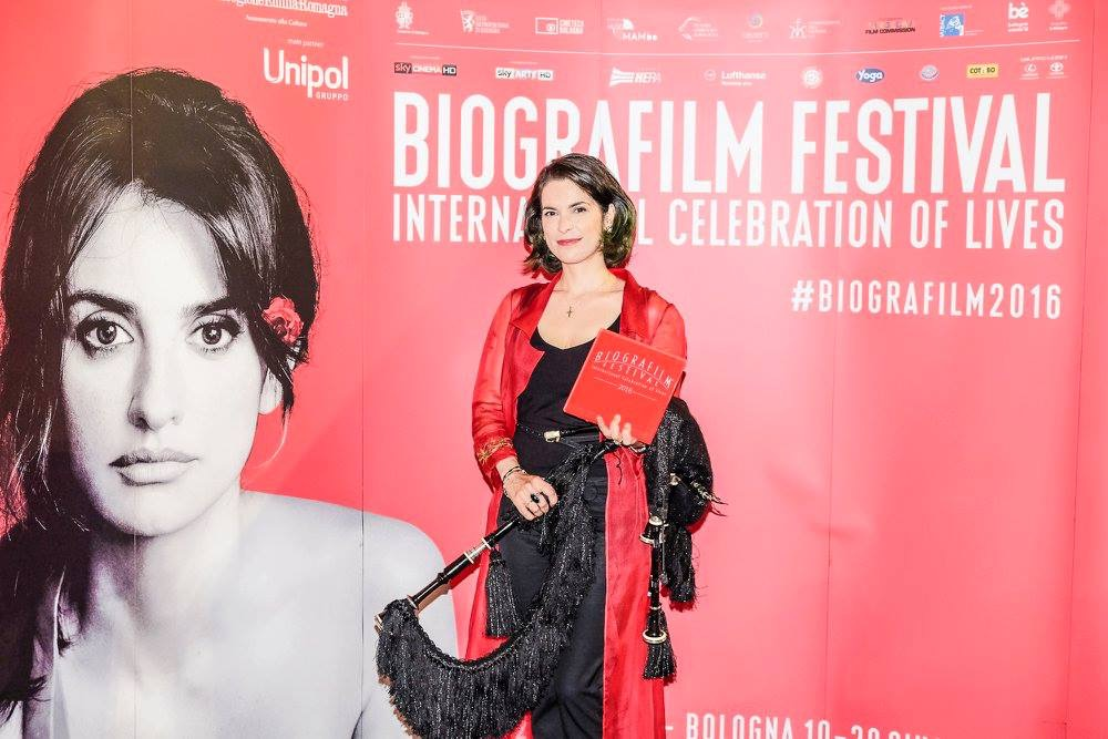 Cristina Pato at the Biografilm Festival