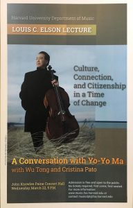 A Conversation with Yo-Yo Ma with Wu Tong and Cristina Pato