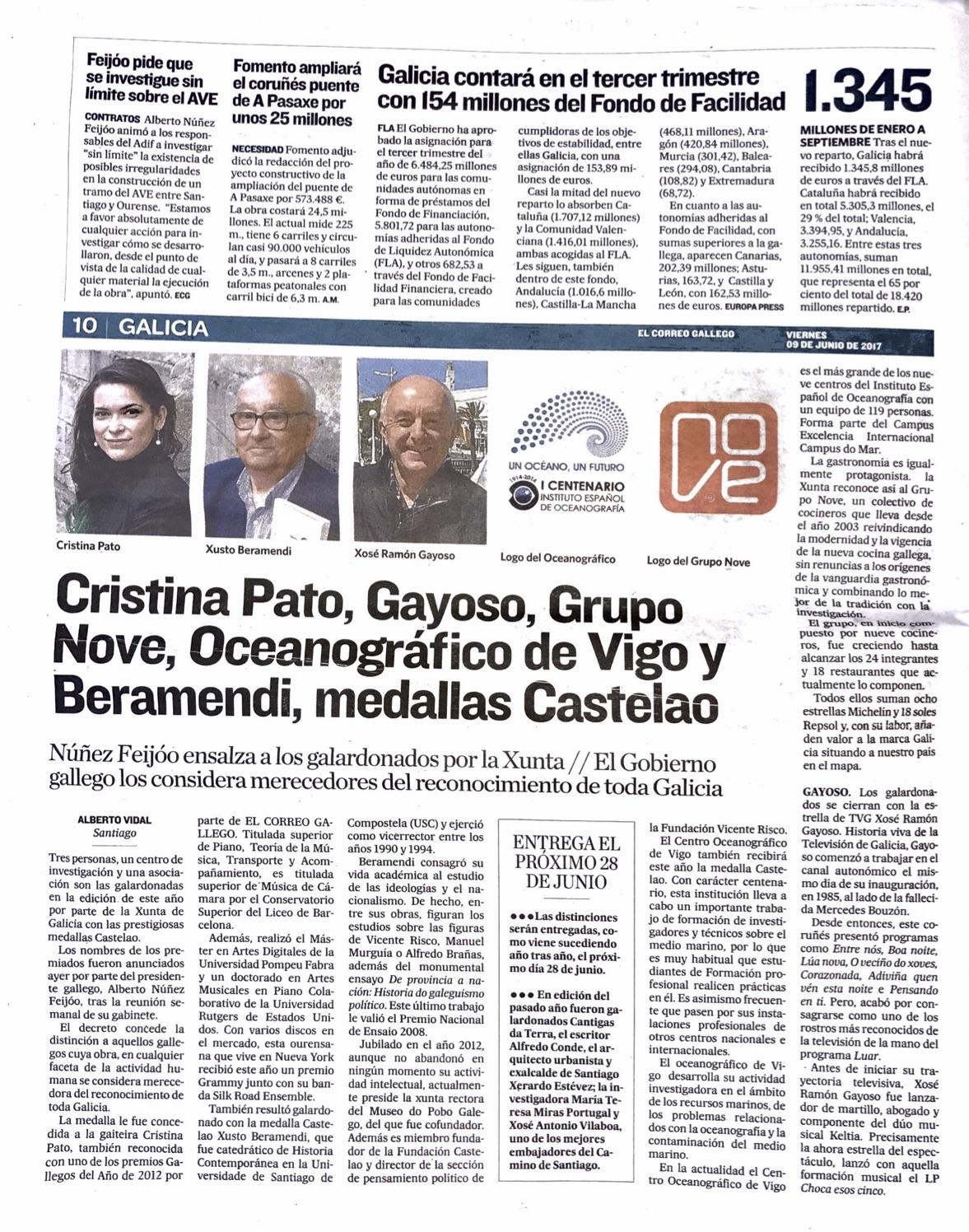 El Correo Gallego 09/06/2017