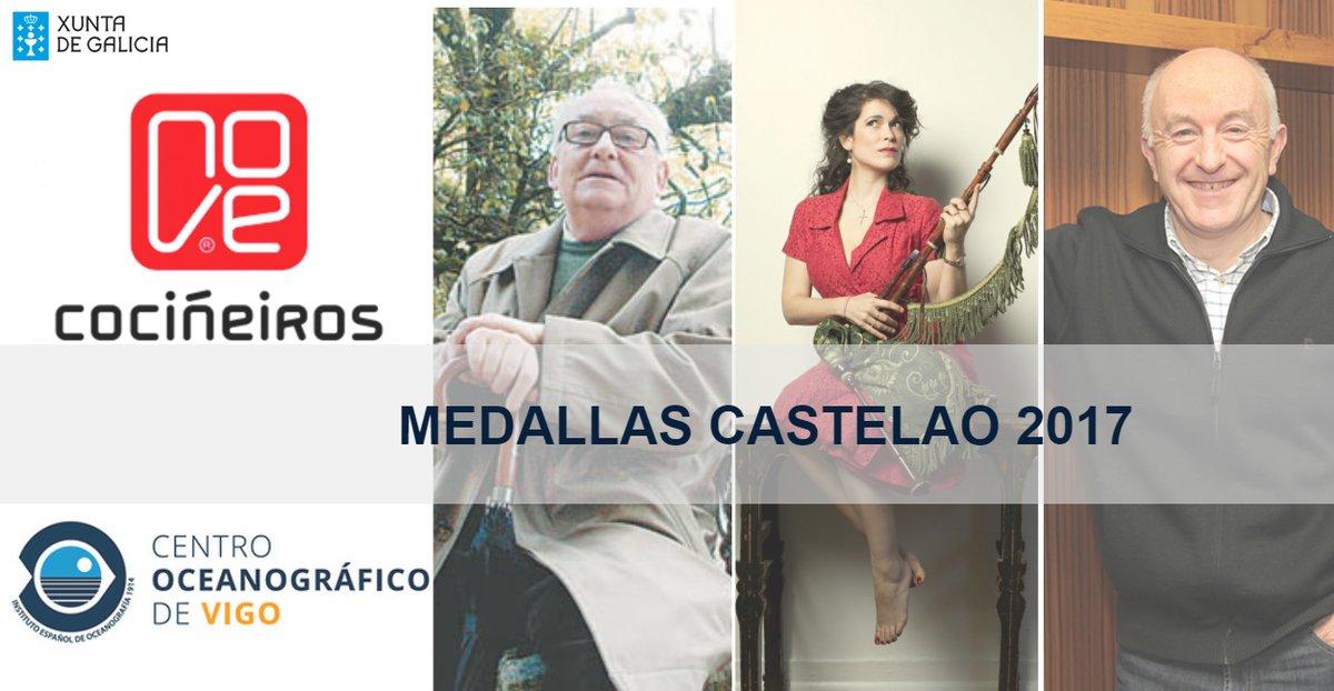 Medallas Castelao 2017