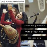 Repost turnaroundartsnational with repostapp GRACIAS!!!!  We are so thankfulhellip