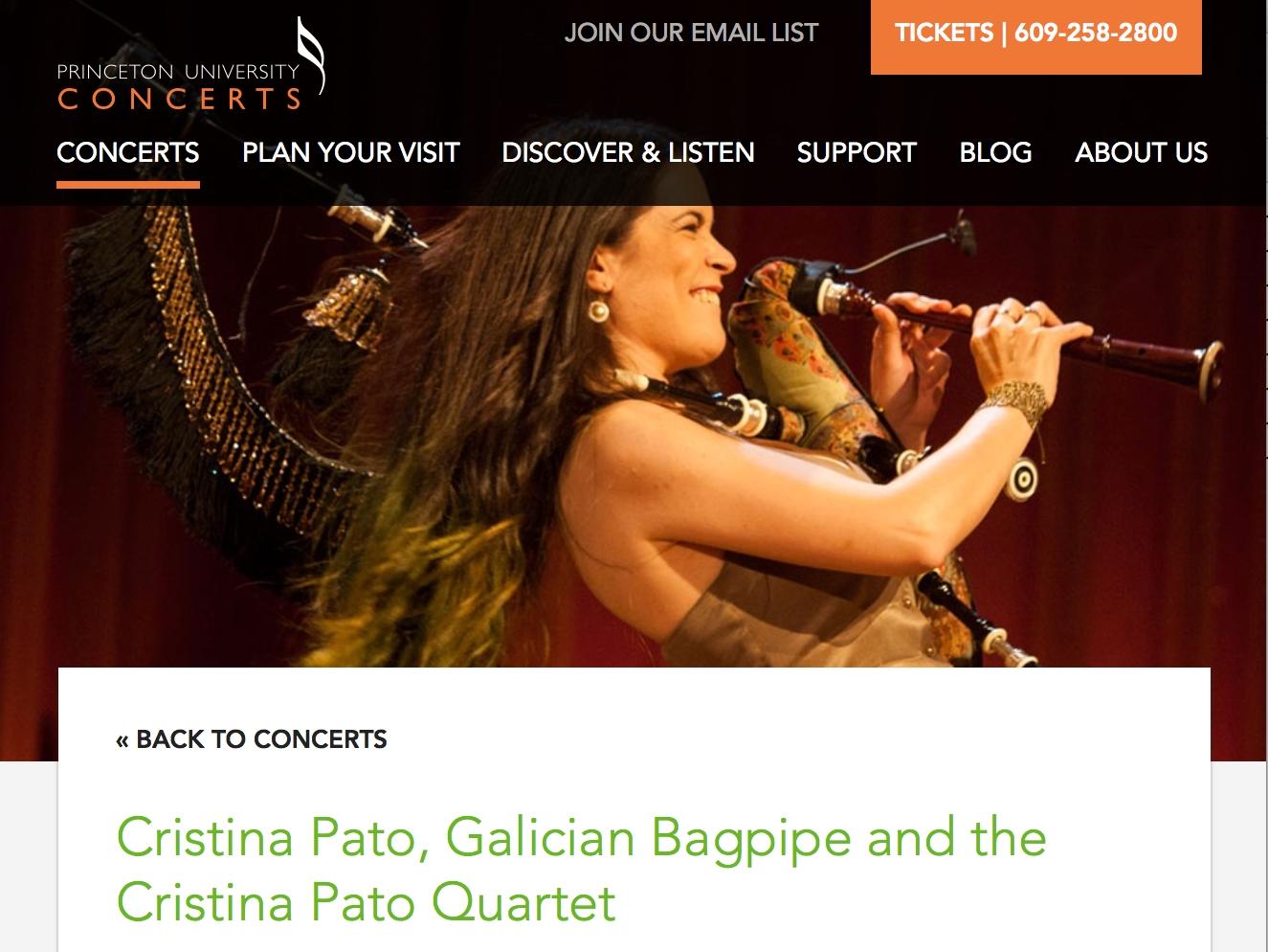 Princeton University Concert