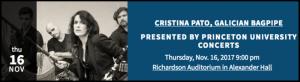 Cristina Pato Concerts at Princeton University