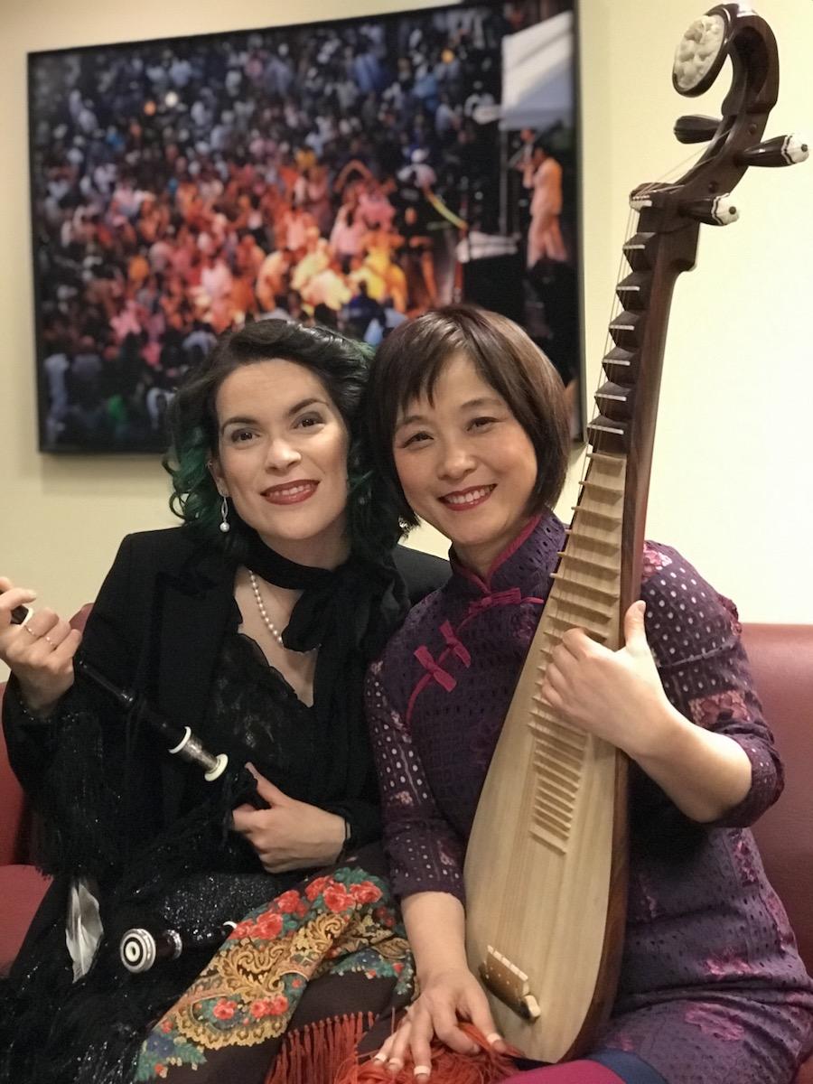 Silkroad Ensemble Spring Tour 2018 - Cristina Pato & Wu Man