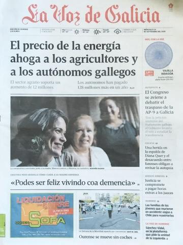 La Voz de Galicia – 19/09/2018