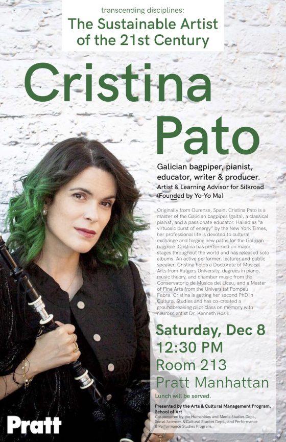 Cristina Pato - Bagpiper, pianist, educator, writer