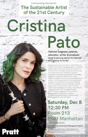 Cristina Pato – Pratt Manhattan