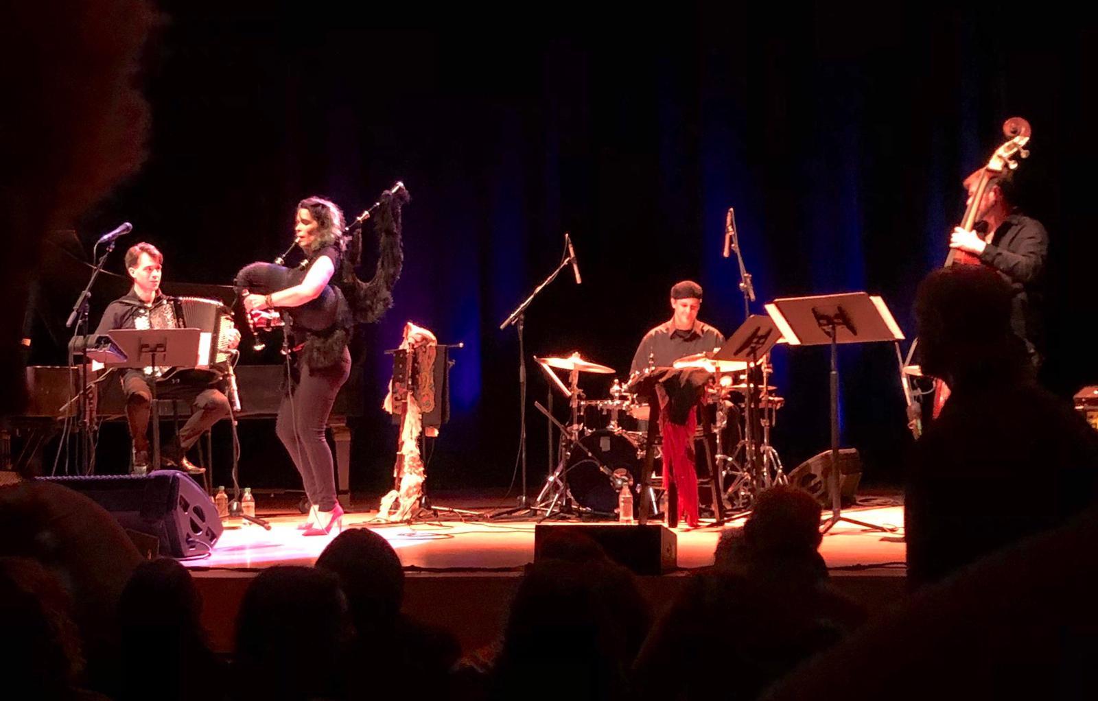 Cristina Pato Quartet - Vancouver, 2019