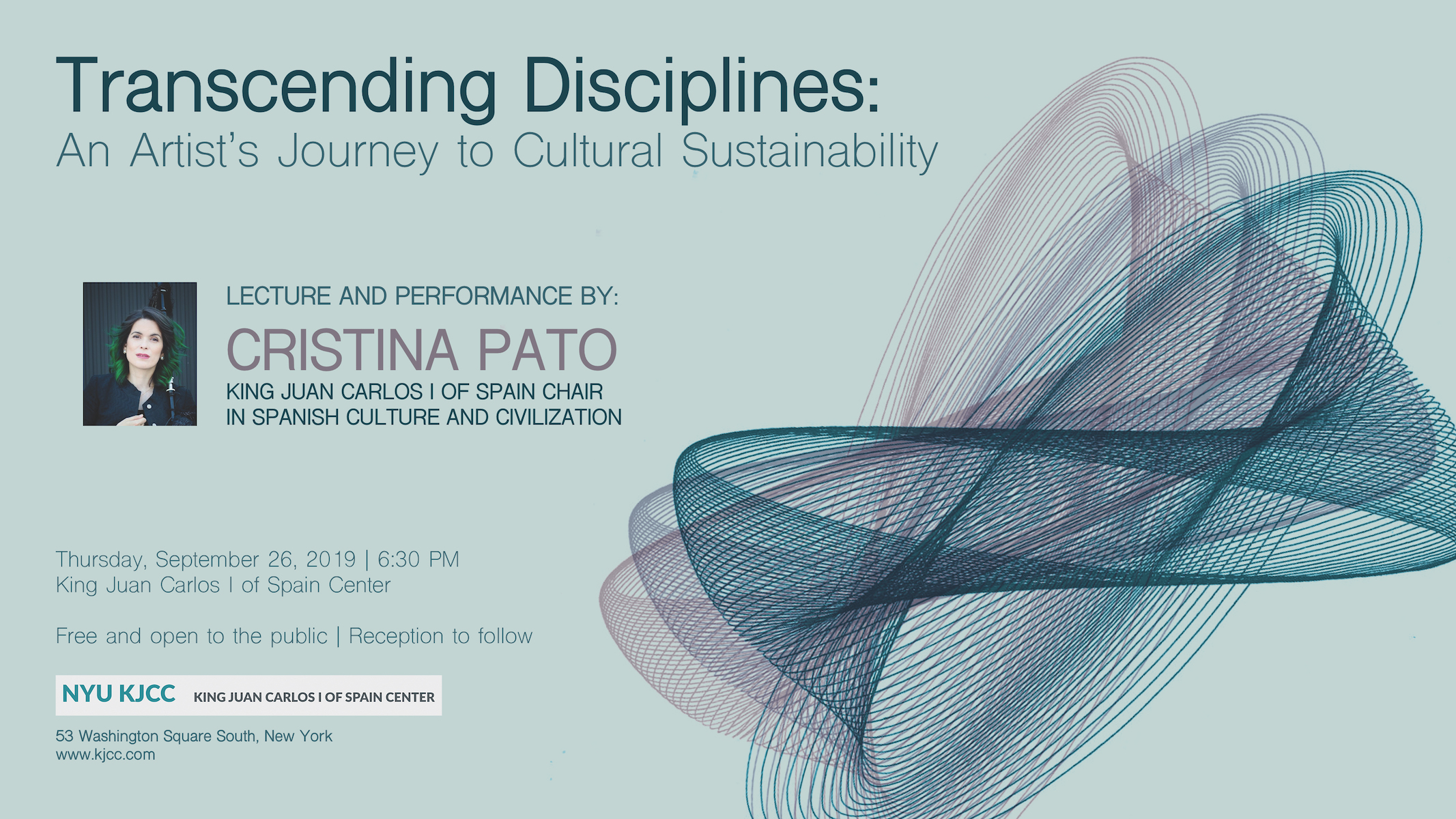 Transcending Disciplines: An Artist's Journey to Cultural Sustainability – KJCC at NYU