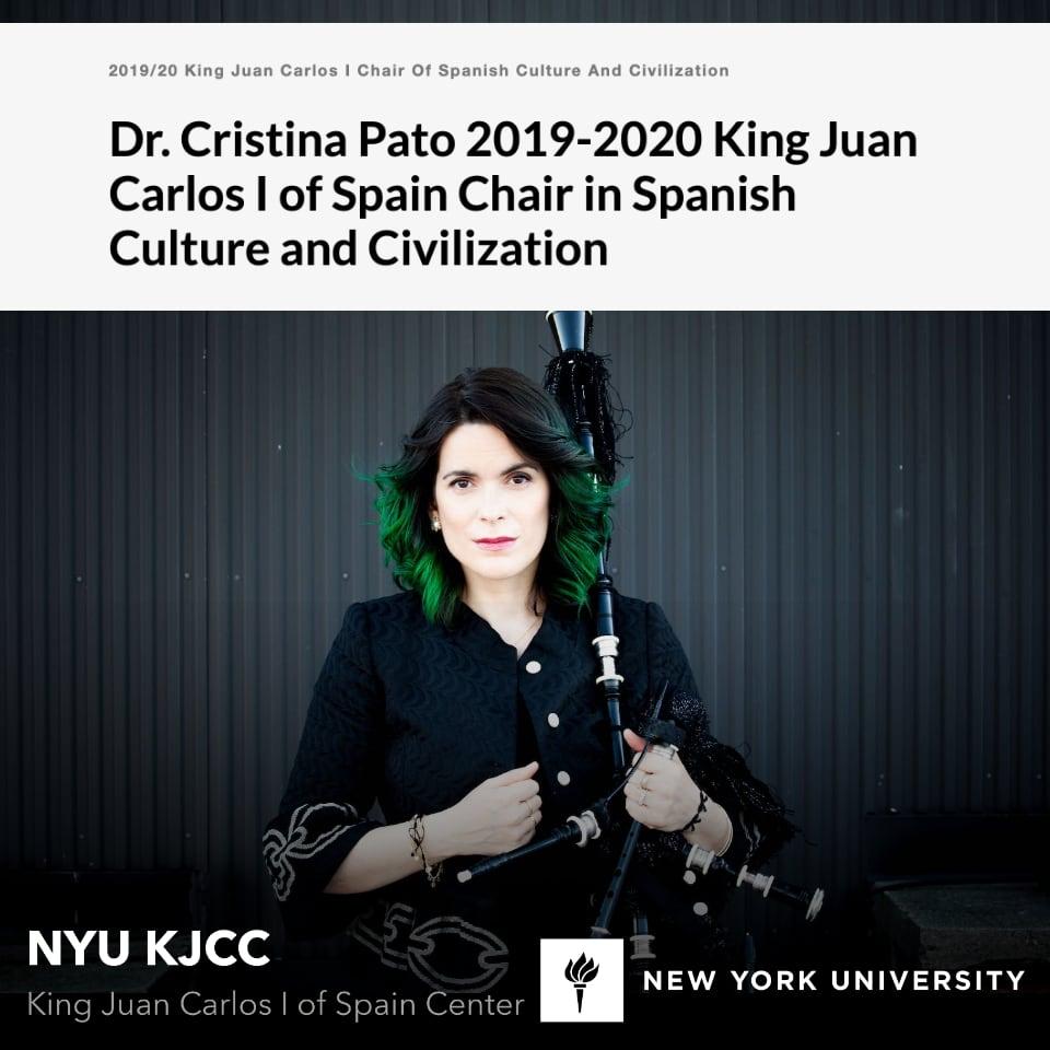 Cristina Pato – Kew York University KJCC